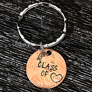Class of 2020 Graduation Penny Keychain - Lasting Impressions CT