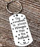 The Comeback is Stronger Than the Setback Keychain - Lasting Impressions CT