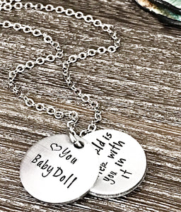 Custom Locket Necklace for Girls - Daily Reminder - Lasting Impressions CT