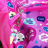 Custom Backpack Tags for Kids, Back To School Gifts, Hand Stamped Personalized Tags - Lasting Impressions CT