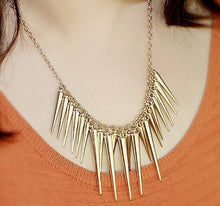 Dangling Icicles Necklace
