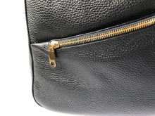 CARBOTTI 1750 Luxurious Italian Leather Shoulder Handbag - Black