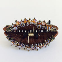 Large Hair Clip Claw - Dark Brown