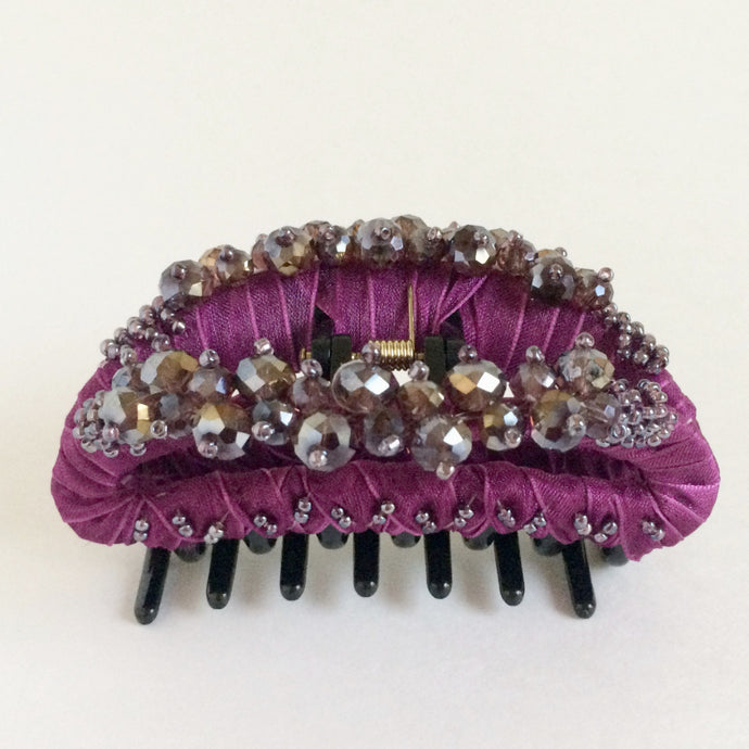 Large Hair Clip Claw - Magenta