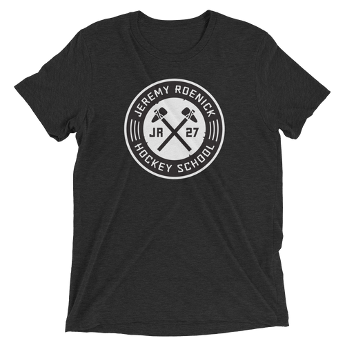 JR Hockey School Logo T-Shirt (Black/White)