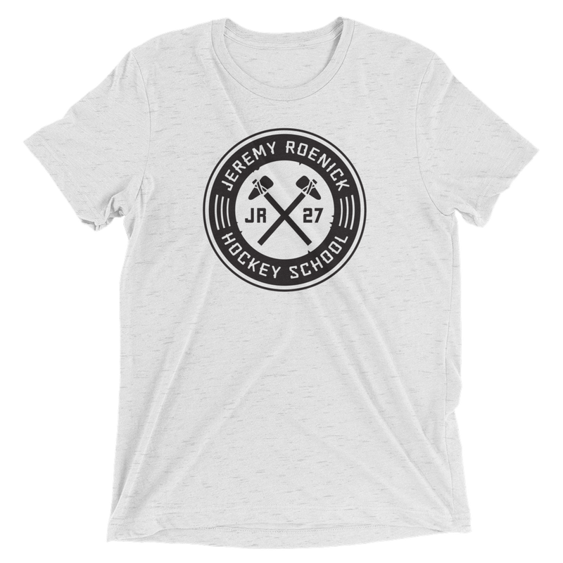 JR Hockey School Logo T-Shirt (White/Black)