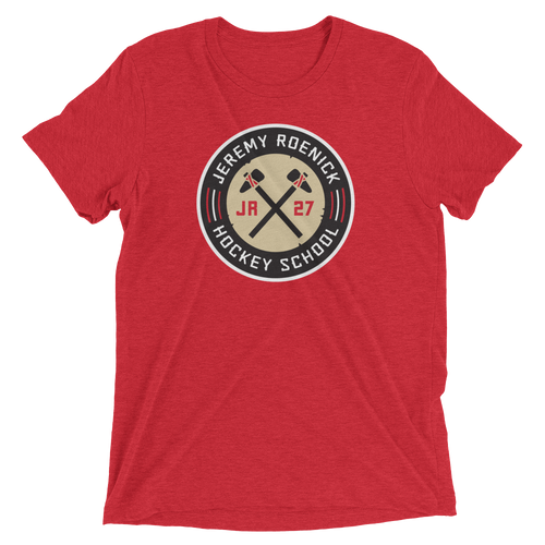JR Hockey School Logo T-Shirt (Red)