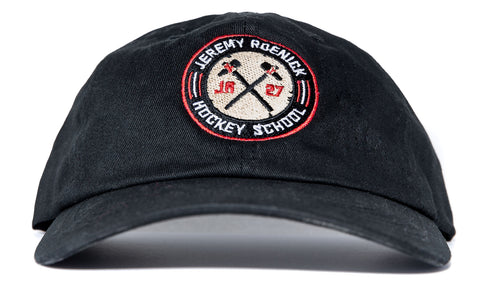 JR Hockey School Dad Hat (Black)