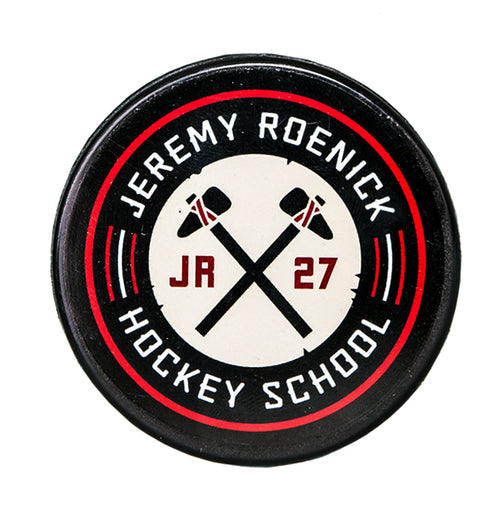 JR Hockey School Puck