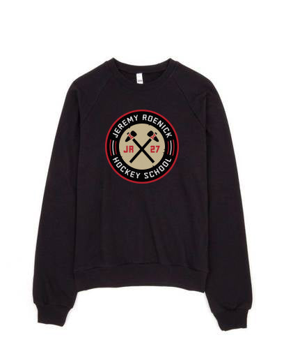 JR Hockey School Crewneck Sweatshirt (Black)