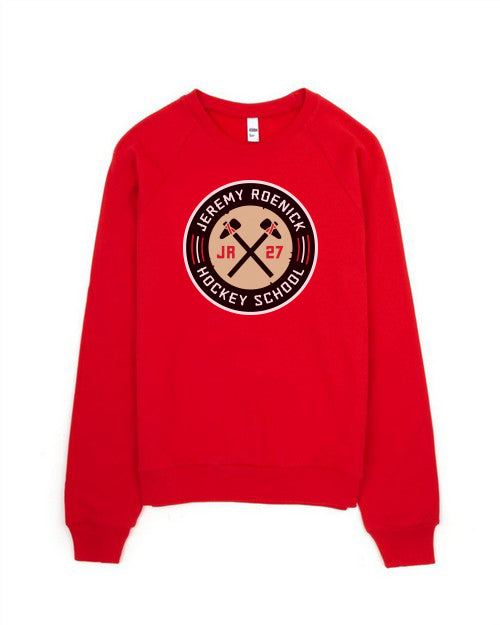 JR Hockey School Crewneck Sweatshirt (Red)