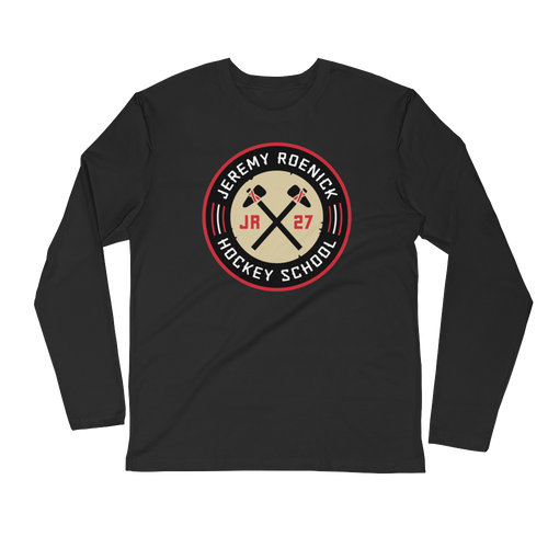 JR Hockey School Logo LS T-Shirt (Black)