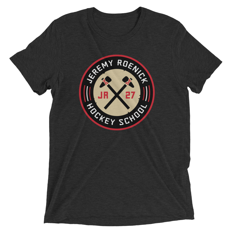 JR Hockey School Logo T-Shirt (Black)