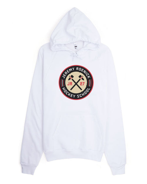 JR Hockey School Hooded Sweatshirt (White)