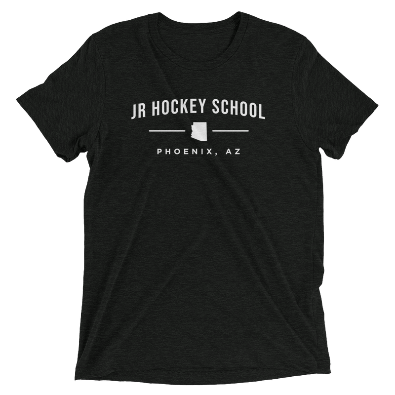JR Hockey School Arizona State Logo T-Shirt (Black)