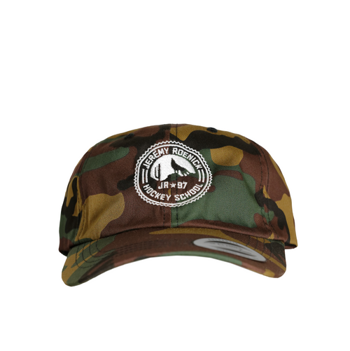 JR Hockey School Hat - Arizona Camo Dad Hat