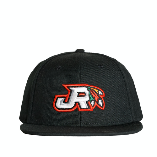 JR Hockey School Hat - Chicago Feather's Logo Snapback