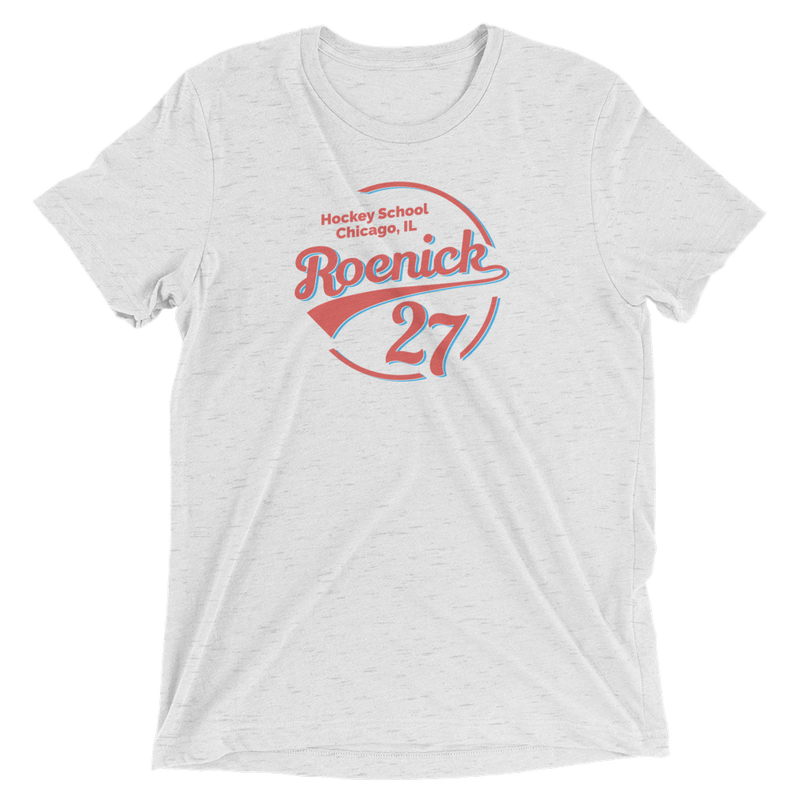 JR Hockey School Roenick 27 Chicago T-Shirt (Off White)
