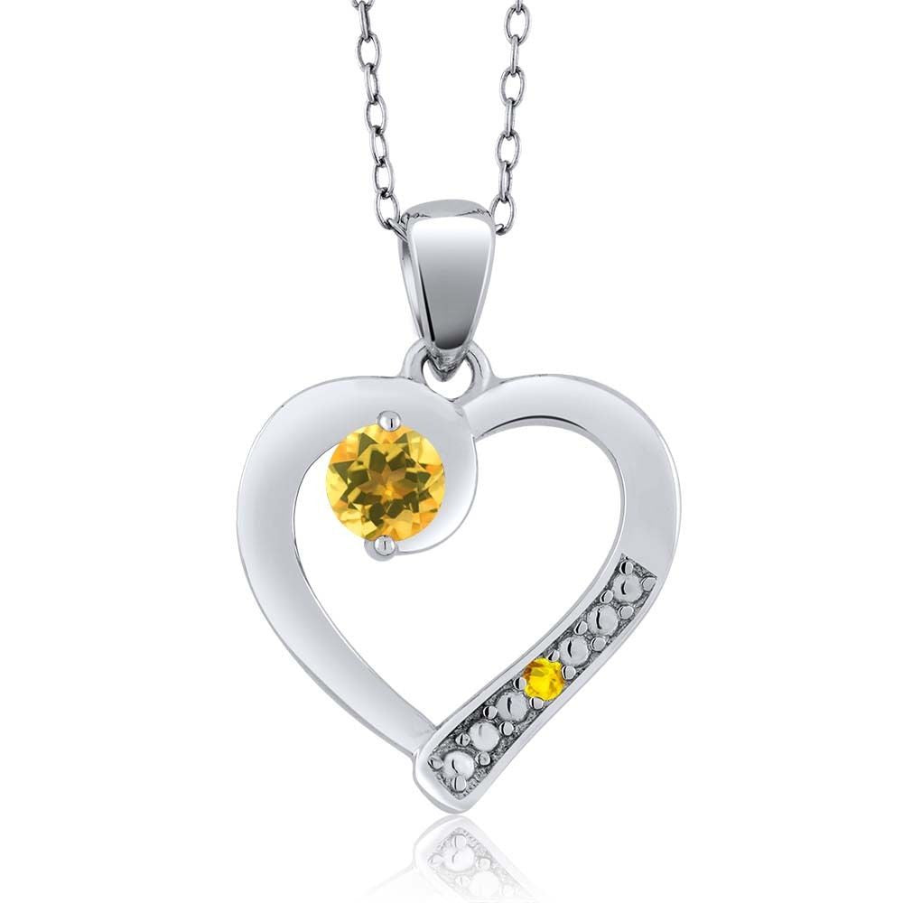 diamond halo white peridot gold pendant sapphire jewelers beckers yellow