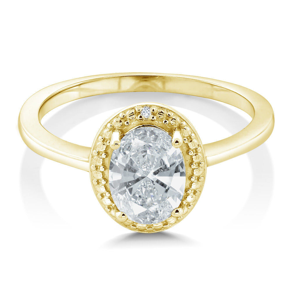 with silver setting chain the solitaire cz plated and rose yard a gold by