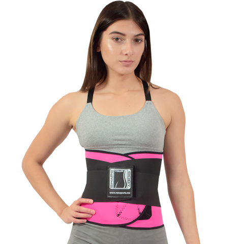 Compression Reductive Waist Trainer reduces inches and eliminates toxins through perspiration