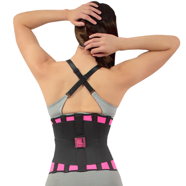 030bbab6d Compression Reductive Waist Trainer reduces inches and eliminates toxins  through perspiration
