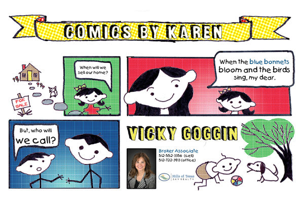Postcard Comics: Marketing Meant for the Funny Page – Karen