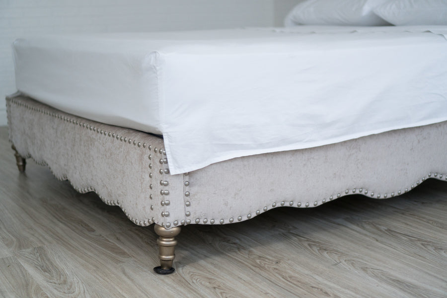 A Top Sheet Customized For Your Bed