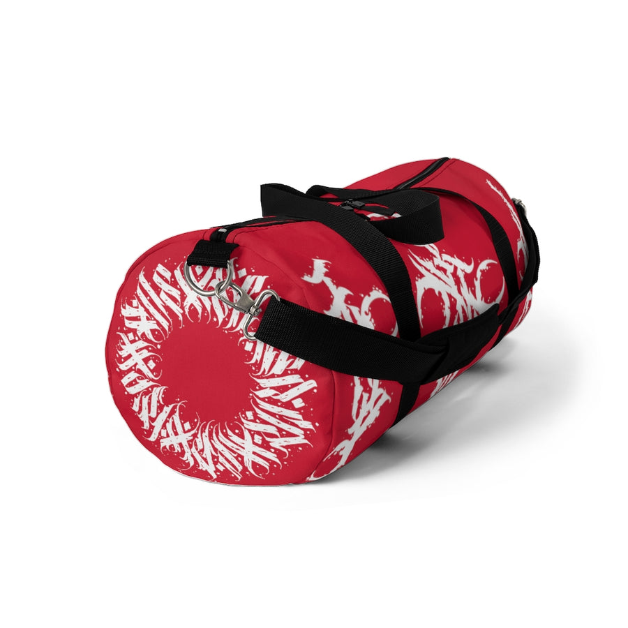 Noeko Red Duffel Bag