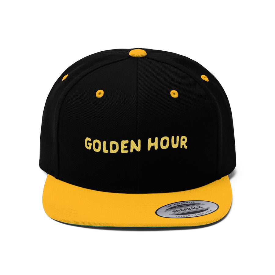 Golden Hour Flat Bill Hat