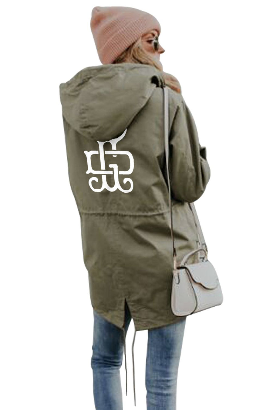 Monogram Detachable Windproof Jacket