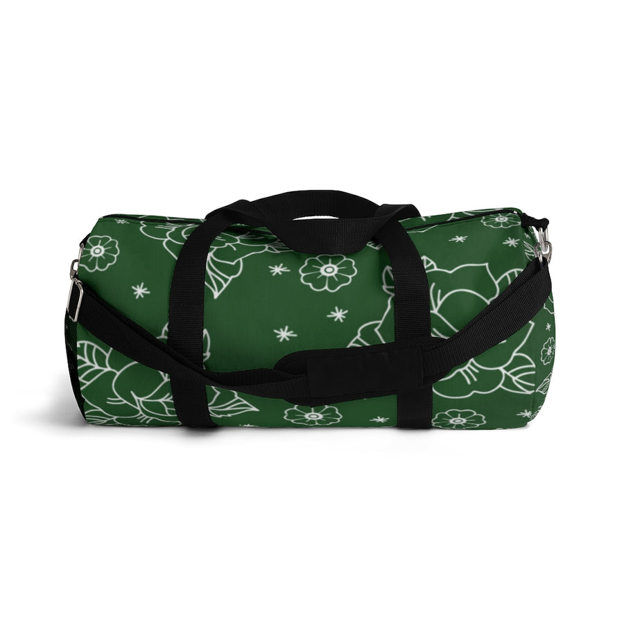 Rose Green Duffel Bag