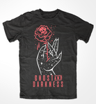 Blood Rose SS Shirt Black - JBRD