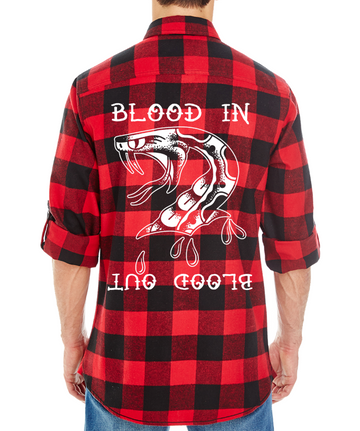 Blood In Flannel - JBRD