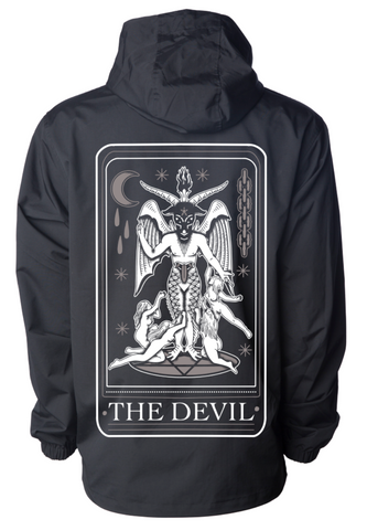 The Devil HW Pullover Jacket - Black - JBRD