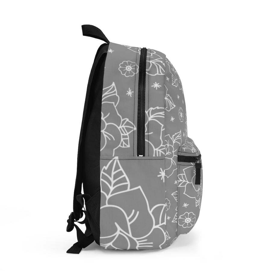 Rose Grey Backpack