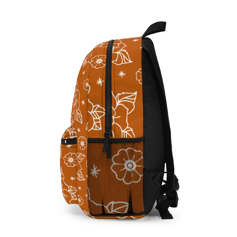 Rose Orange Backpack