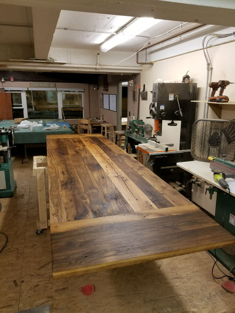 At Lighthouse Woodworks, our tables have a story to tell.