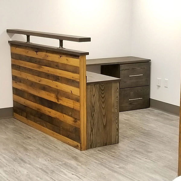 Reclaimed Wood Desk for Office