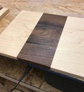 Two-Toned Cutting Board | Lighthouse Woodworks