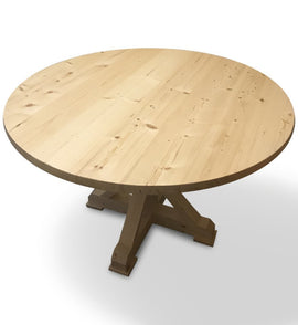 Bakers Island Round Farm Table