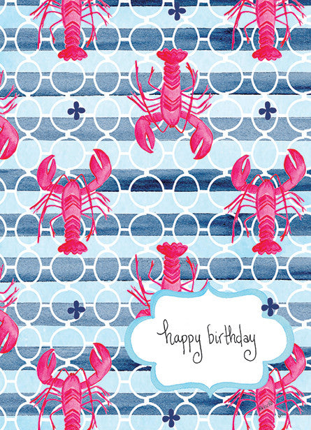 Pink Lobster Birthday