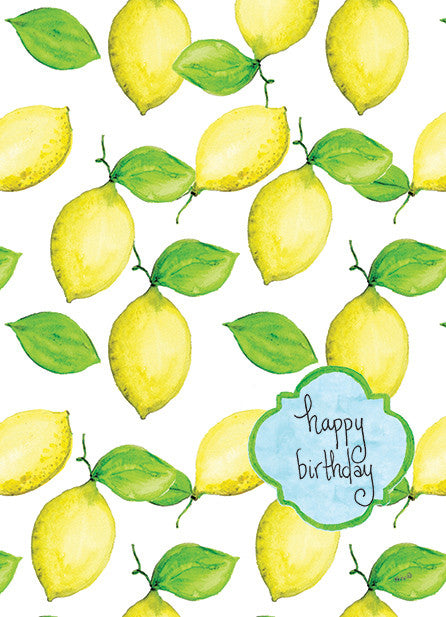 Lemon Birthday (limited quantities)