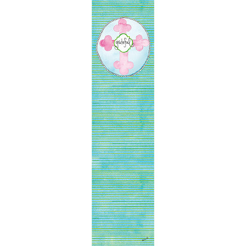 Pink Grateful Bookmark