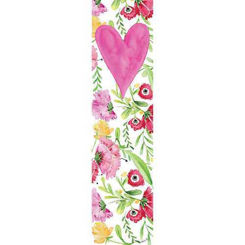 Heart Blossom Bookmark