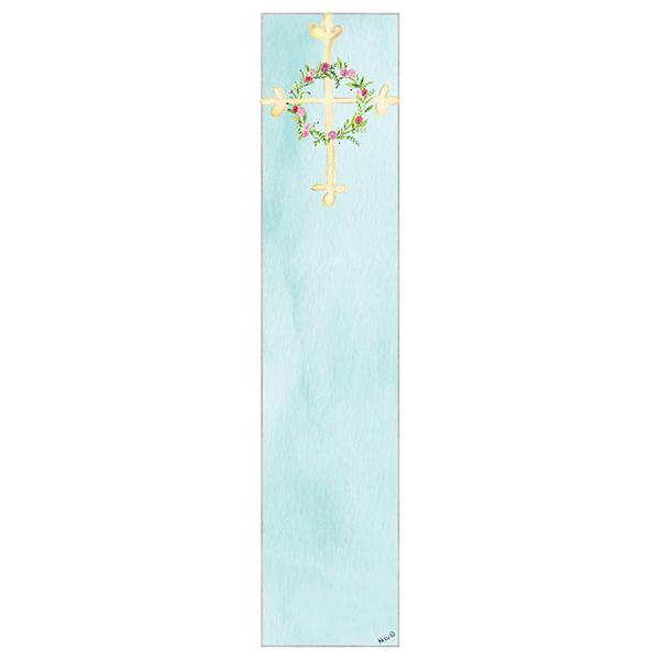 Lovely Cross Notepad Gift Set