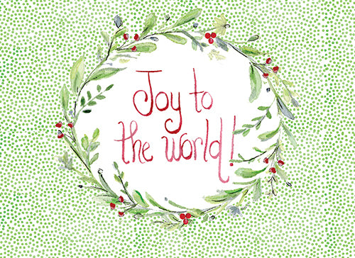 Joyful Garland Cards