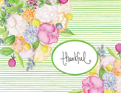 Thankful Bouquet Boxed Notes