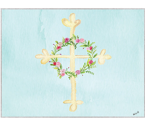 NEW! Lovely Cross Boxed Notes