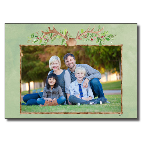 Holiday Antlers Cards